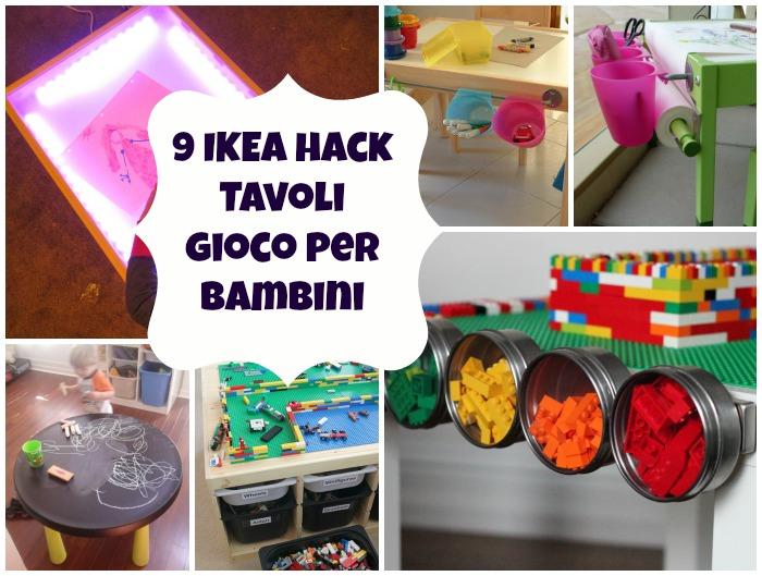 9 ikea hack di tavoli per bambini mercatino dei piccoli for Ikea lettini bimbi