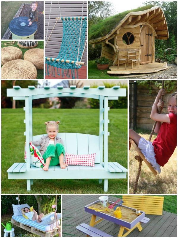 7 mobili da giardino fai da te con materiali da riciclo for Mobili da terrazzo in legno