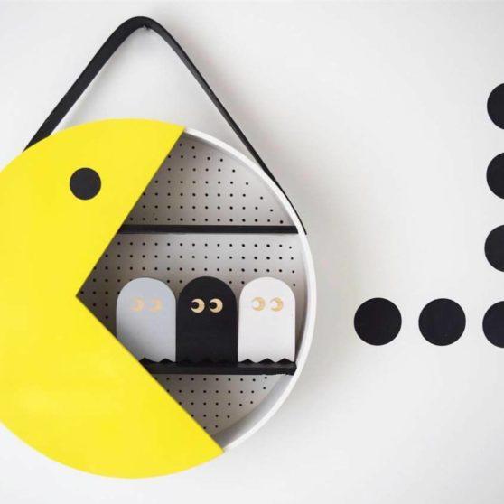 Make And Style It: mensole Pac-Man e Luna fai da te