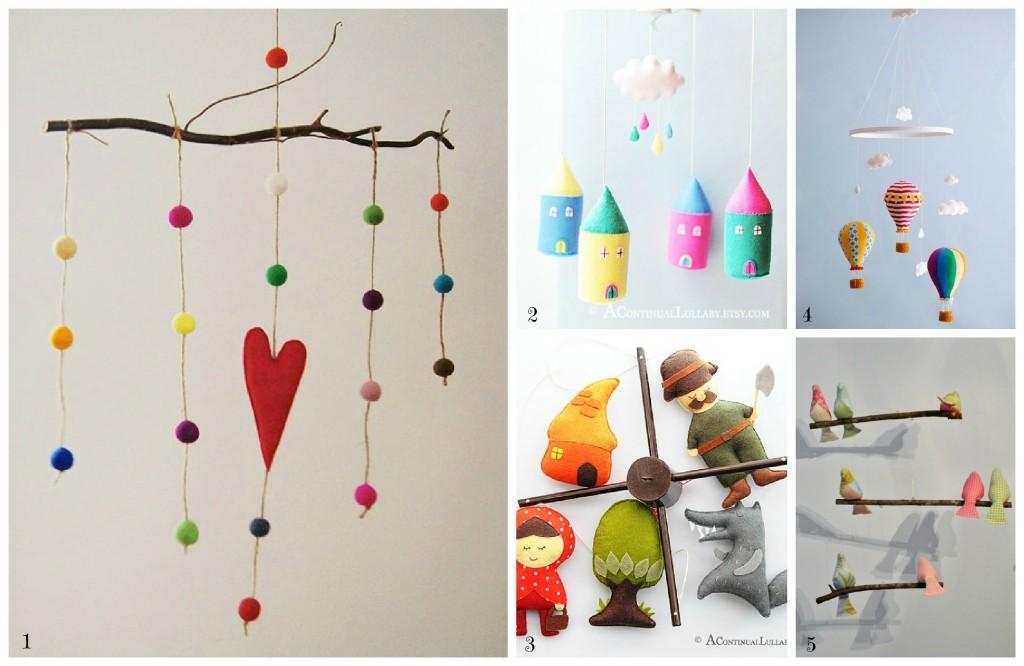 Decorazioni Per Camerette Bambini Fai Da Te : Una selezione da etsy di giostrine e decorazioni per la cameretta