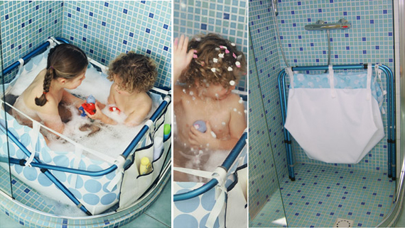 Vasca Da Bagno Per Neonati : Trasforma la doccia in un bagnetto o piscinetta! mercatino dei piccoli
