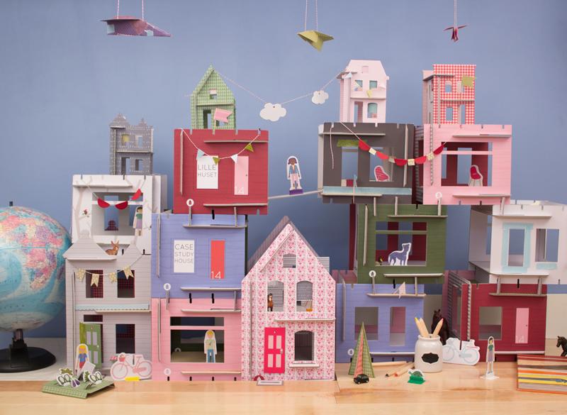 Piccole case in kit da decorare lille huset mercatino for Case prefabbricate kit fai da te