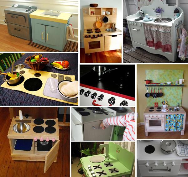 Cucina giocattolo dieci esempi di cucine giocattolo fai for Mobili cucina fai da te