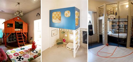 3 idee in cameretta per i letti rialzati dei bambini | Mercatino dei ...